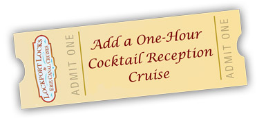 Add a one hour cocktail reception cruise